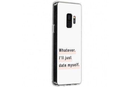 Samsung Galaxy S9 hoesje - Design Backcover voor Samsung