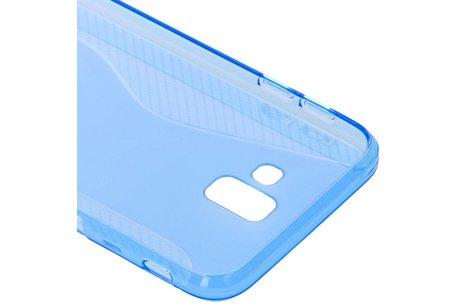 Samsung Galaxy J6 Plus hoesje - S-line Backcover voor Samsung