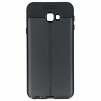 Lederen Backcover met stiksel Samsung Galaxy J4 Plus