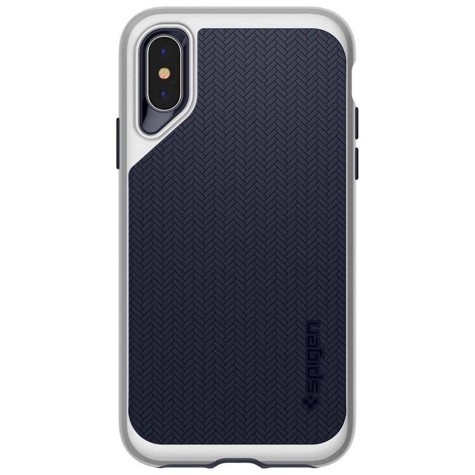 Spigen Neo Hybrid Backcover voor iPhone X / Xs - Blauw