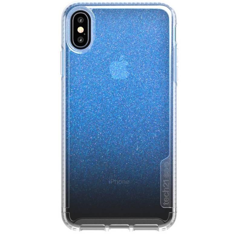 Tech21 Blauwe Pure Shimmer voor de iPhone Xs Max