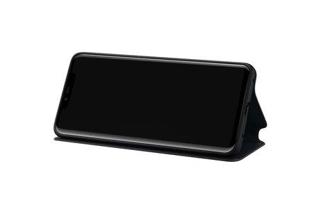 Huawei Wallet Booktype voor de Huawei Mate 20 Pro - Zwart