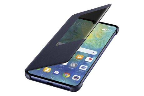 Huawei Smart View Flip Case voor Huawei Mate 20 - Blauw
