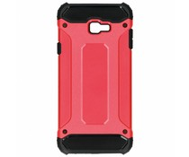 Rood Rugged Xtreme Case Samsung Galaxy J4 Plus