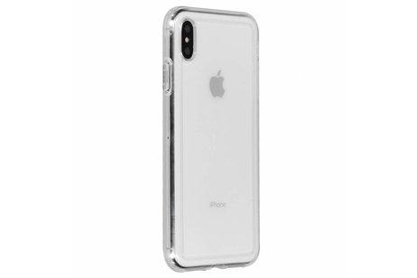 iPhone Xs Max hoesje - Spigen Crystal Hybrid Backcover