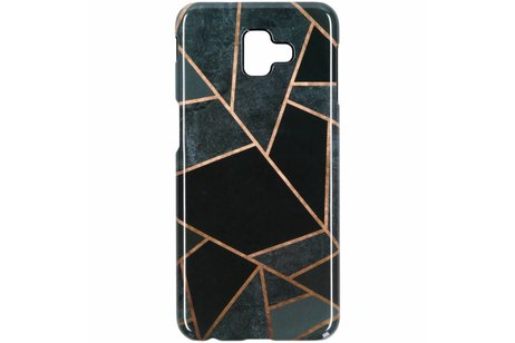 Samsung Galaxy J6 Plus hoesje - Passion Backcover voor Samsung