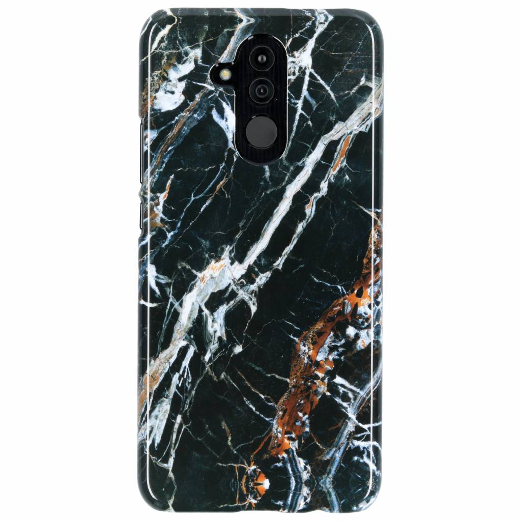 Selencia Black Marble Passion Hard Case voor de Huawei Mate 20 Lite