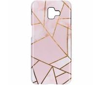 Selencia Pink Graphic Passion Hard Case Samsung Galaxy J6 Plus