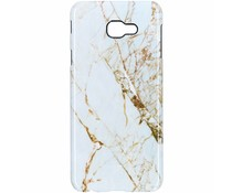 Selencia White Marble Passion Hard Case Samsung Galaxy J4 Plus