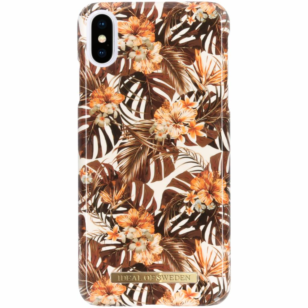 iDeal of Sweden Fashion Backcover voor iPhone Xs Max - Autumn Forest