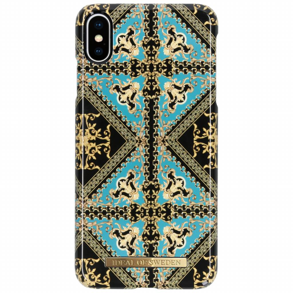 iDeal of Sweden Fashion Backcover voor iPhone Xs Max - Baroque Ornament