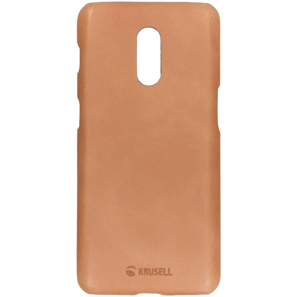 Krusell Bruine Sunne Cover voor de OnePlus 6T