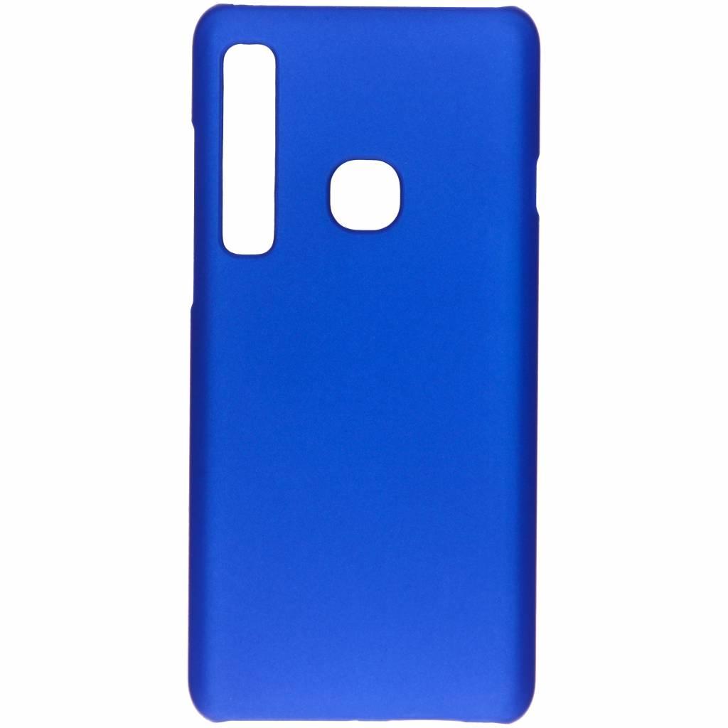 Blauw effen hardcase hoesje voor de Samsung Galaxy A9 (2018)