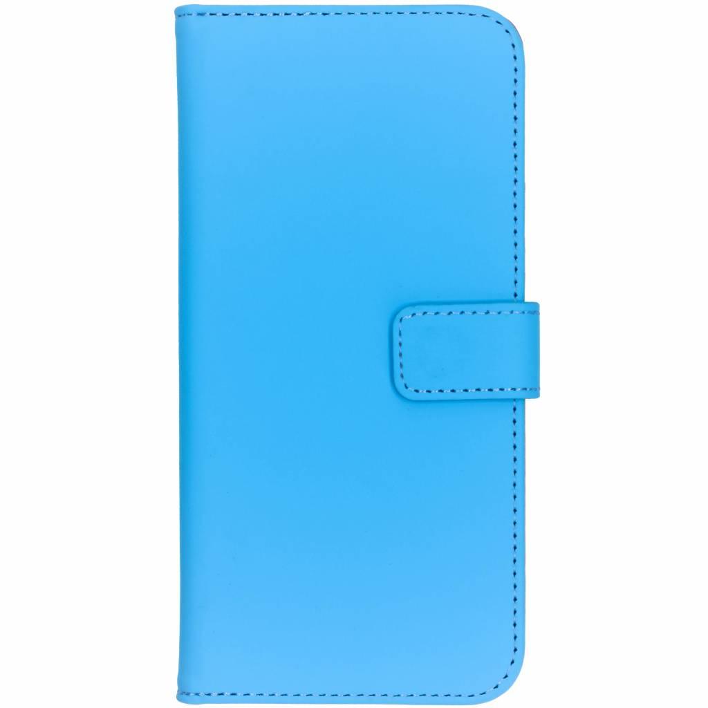 Selencia Blauwe Luxe TPU Book Case voor de Nokia 7.1