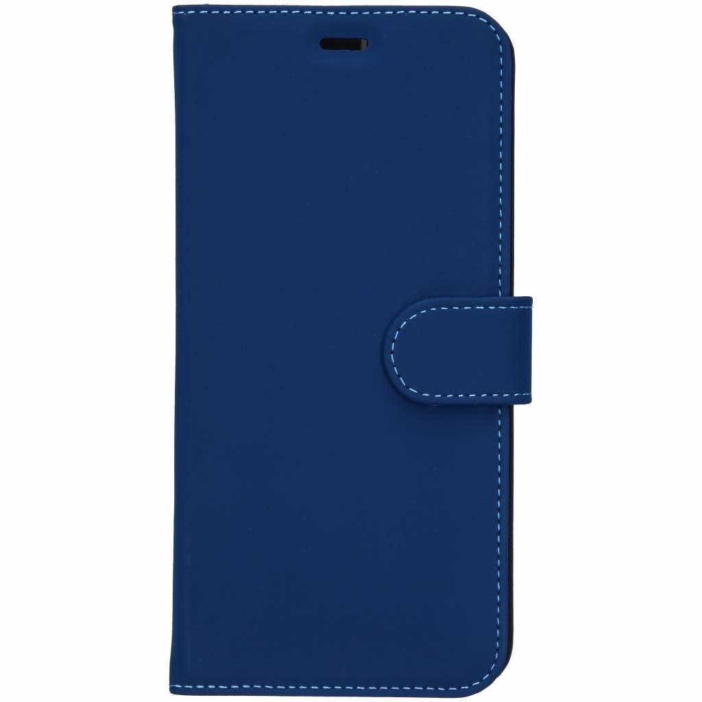 Accezz Blauwe Wallet TPU Booklet voor de Samsung Galaxy J6 Plus