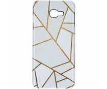 Selencia White Graphic Passion Hard Case Samsung Galaxy J4 Plus