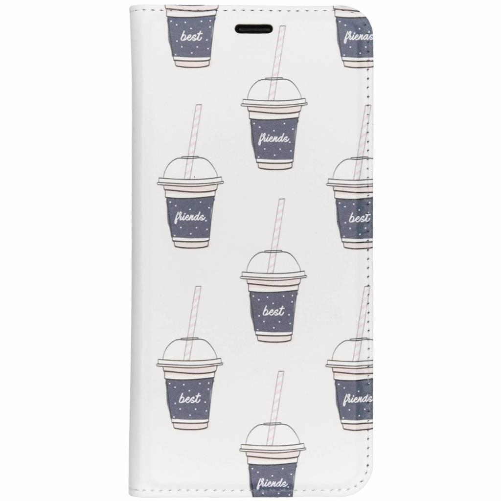 Milkshake Design TPU Bookcase voor de Samsung Galaxy S9