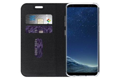 Samsung Galaxy S8 hoesje - Design Softcase Booktype voor