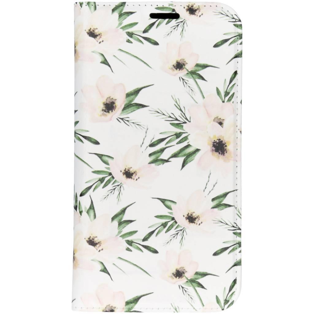 Bloemen Design TPU Bookcase voor de iPhone Xr