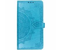 Blauw mandala booktype hoes Xiaomi Pocophone F1