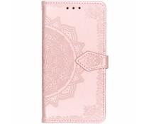 Roze mandala booktype hoes Samsung Galaxy Grand Prime