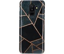 Selencia Black Graphic Passion Hard Case Galaxy A6 Plus (2018)