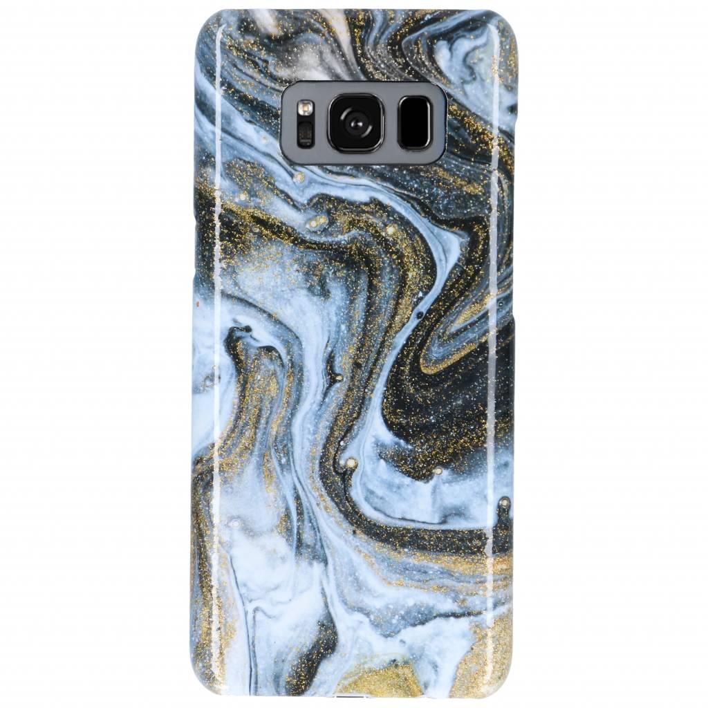 Selencia Black Lava Passion Hard Case voor de Samsung Galaxy S8