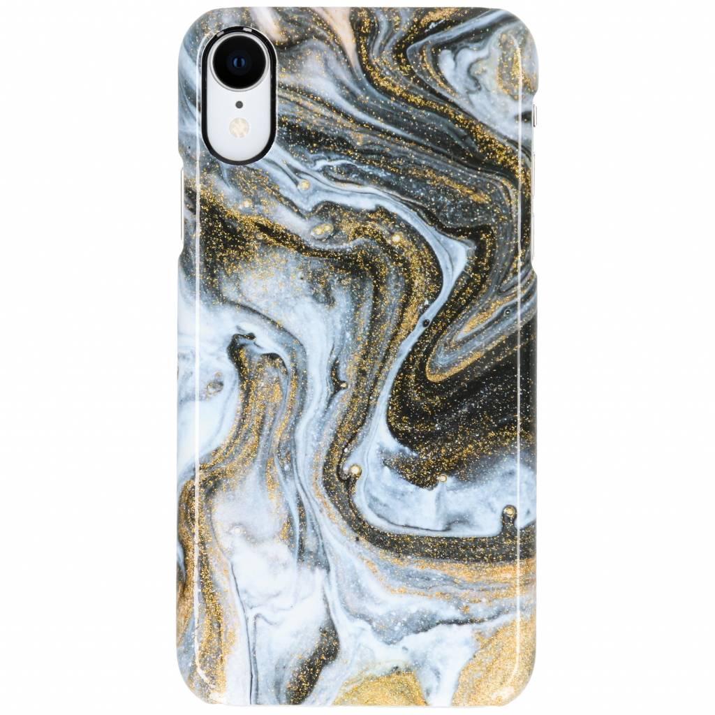 Selencia Black Lava Passion Hard Case voor de iPhone Xr