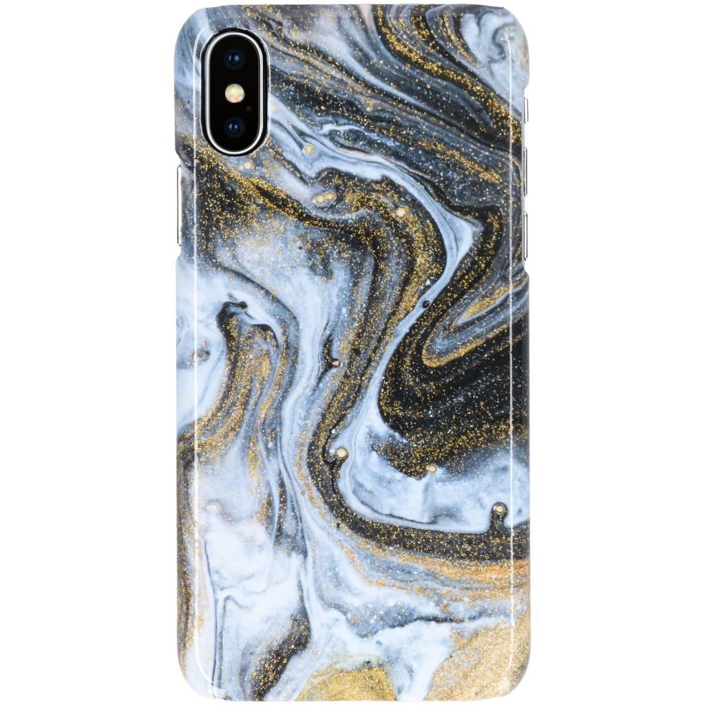 Selencia Black Lava Passion Hard Case voor de iPhone Xs / X