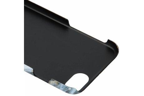 Passion Backcover voor iPhone 8 / 7 / 6s / 6 - Lava Zwart