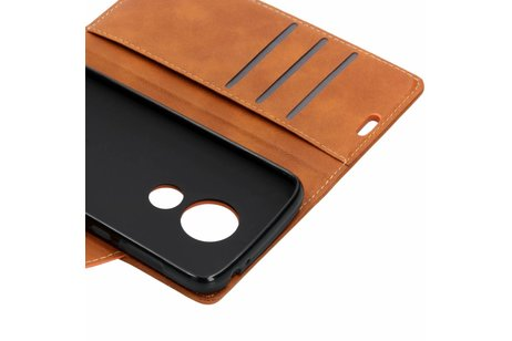 Motorola Moto E5 Play hoesje - Basic Button Booktype voor