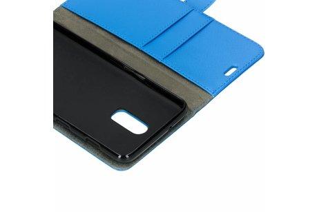Basic Booktype voor OnePlus 6T - Blauw