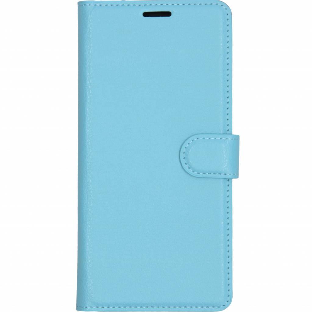 Basic Litchi Booktype voor Samsung Galaxy A9 (2018) - Blauw