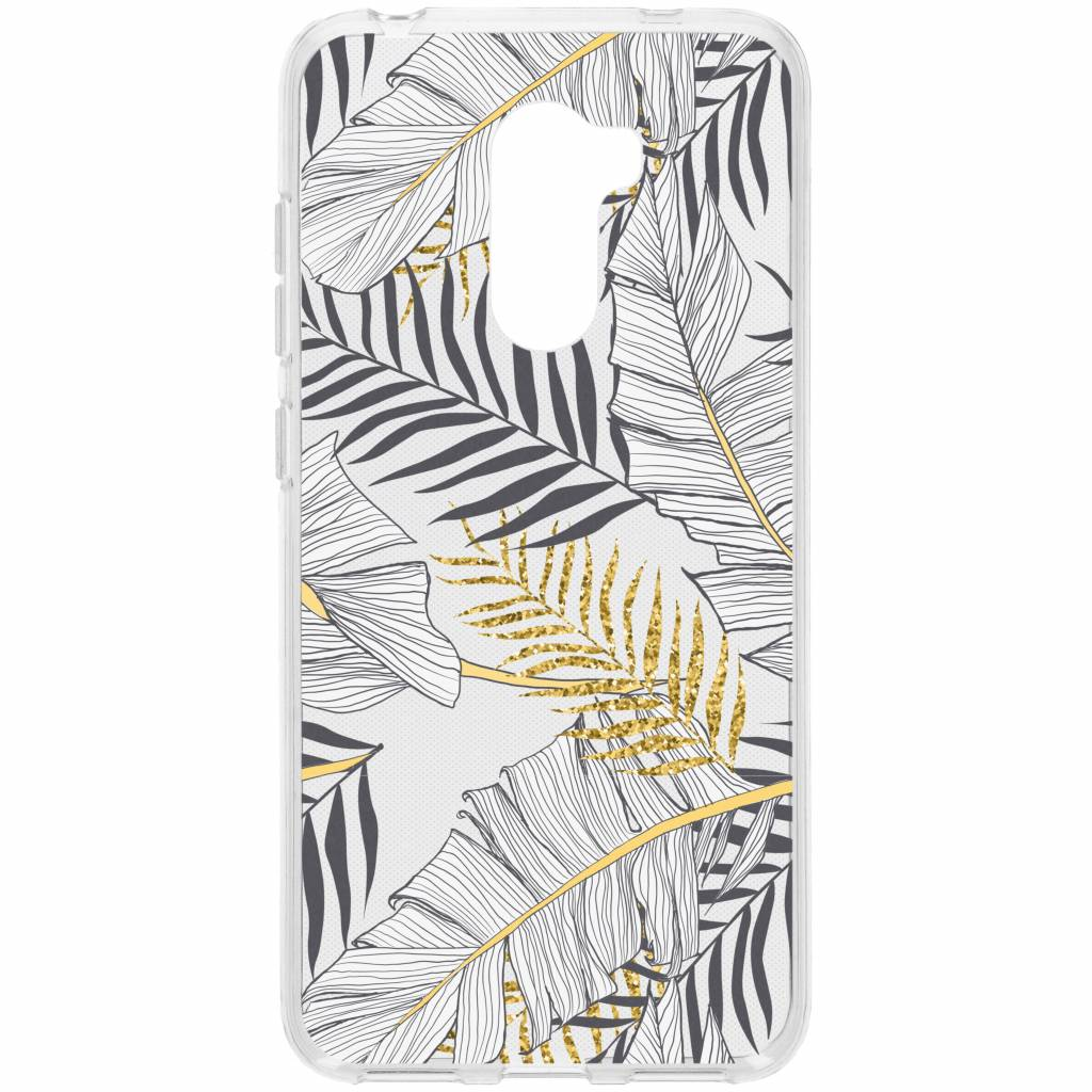 Design Backcover voor Xiaomi Pocophone F1 - Glamour Botanic