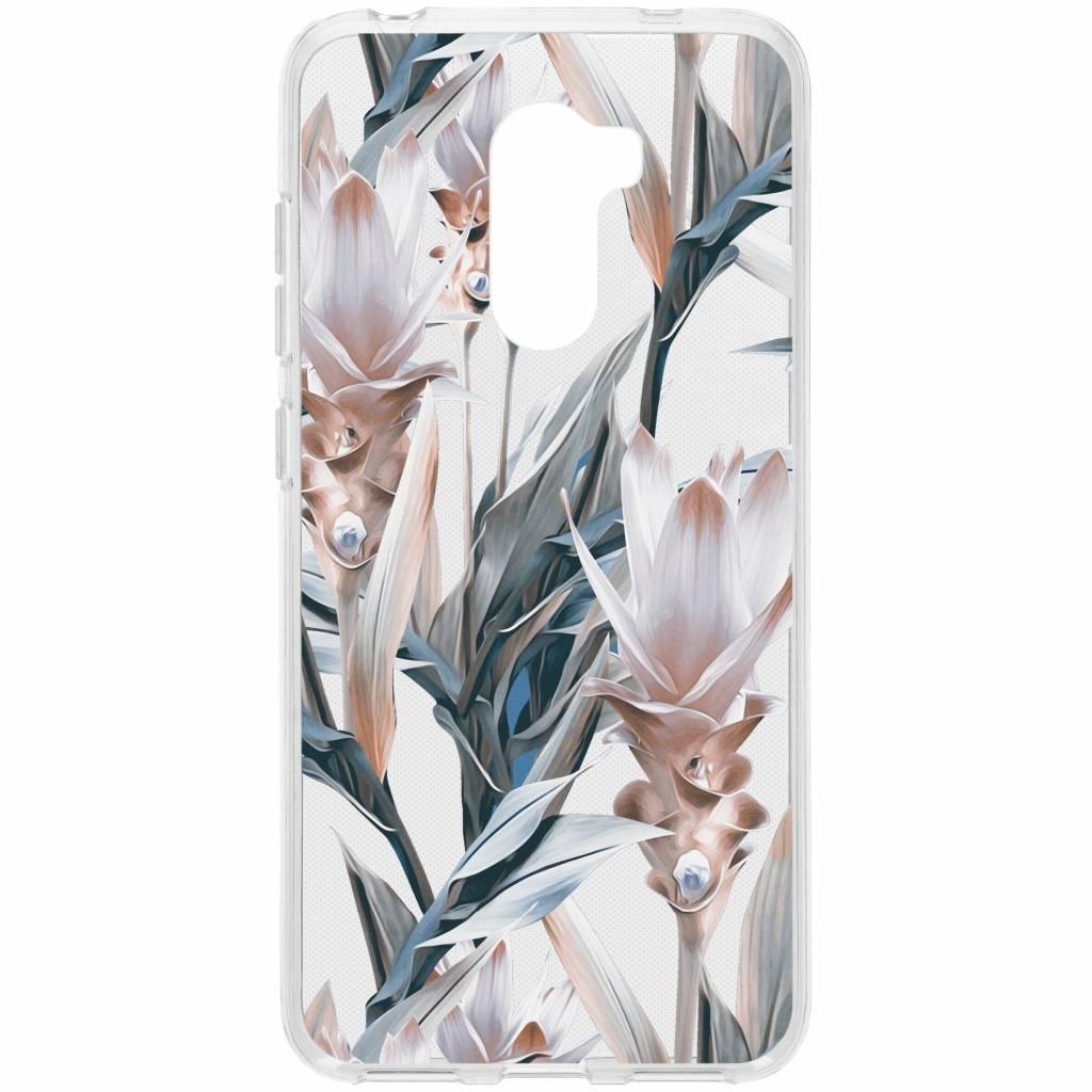 Design Backcover voor Xiaomi Pocophone F1 - Delicate Pastel Bloemen