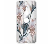 Delicate design siliconen hoesje Sony Xperia XZ3