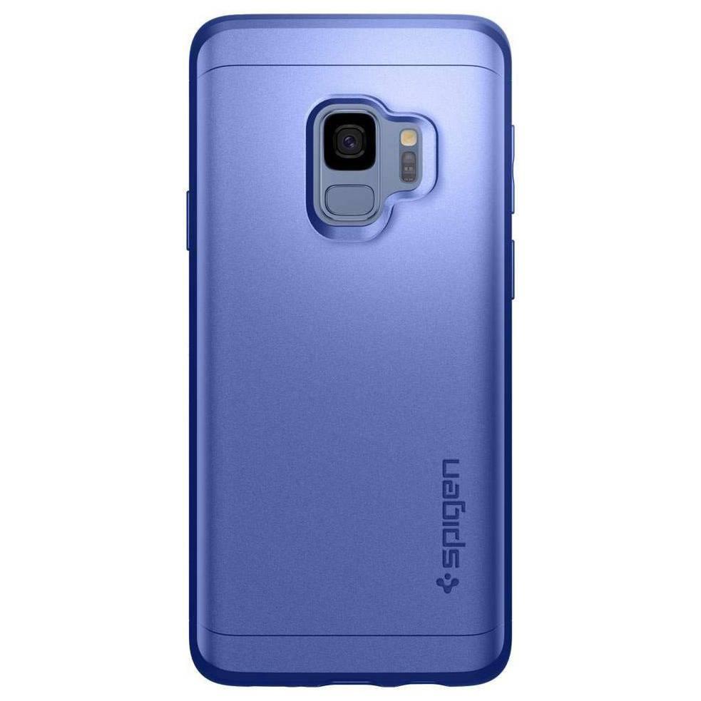 Spigen Thin Fit 360° Backcover voor Samsung Galaxy S9 - Blauw