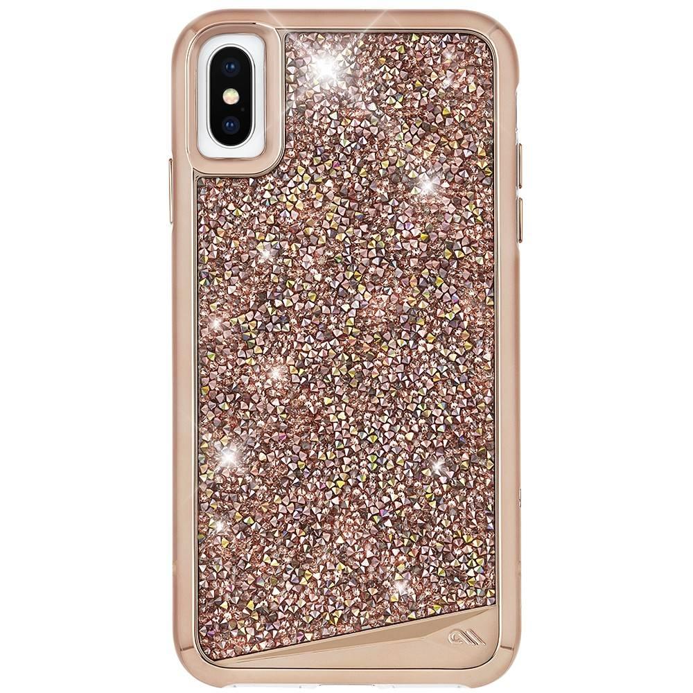 Case-Mate Rosé Gouden Brilliance Tough voor de iPhone Xs / X