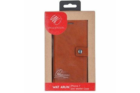 iMoshion 2 in 1 Wallet Case voor iPhone 8 / 7 - Bruin