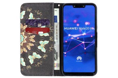 Huawei Mate 20 Lite hoesje - Design Softcase Booktype voor