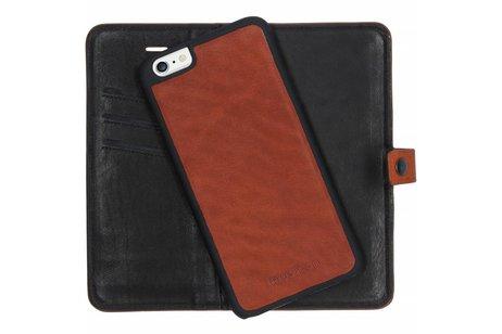 iMoshion 2 in 1 Wallet Case voor iPhone 6(s) Plus - Bruin
