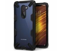 Ringke Zwart Fusion X Case Xiaomi Pocophone F1