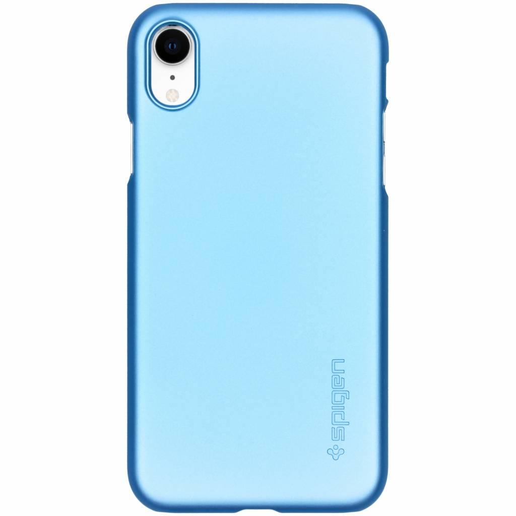 Spigen Blauwe Thin Fit™ Hardcase voor de iPhone Xr