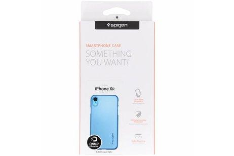 iPhone Xr hoesje - Spigen Thin Fit Backcover