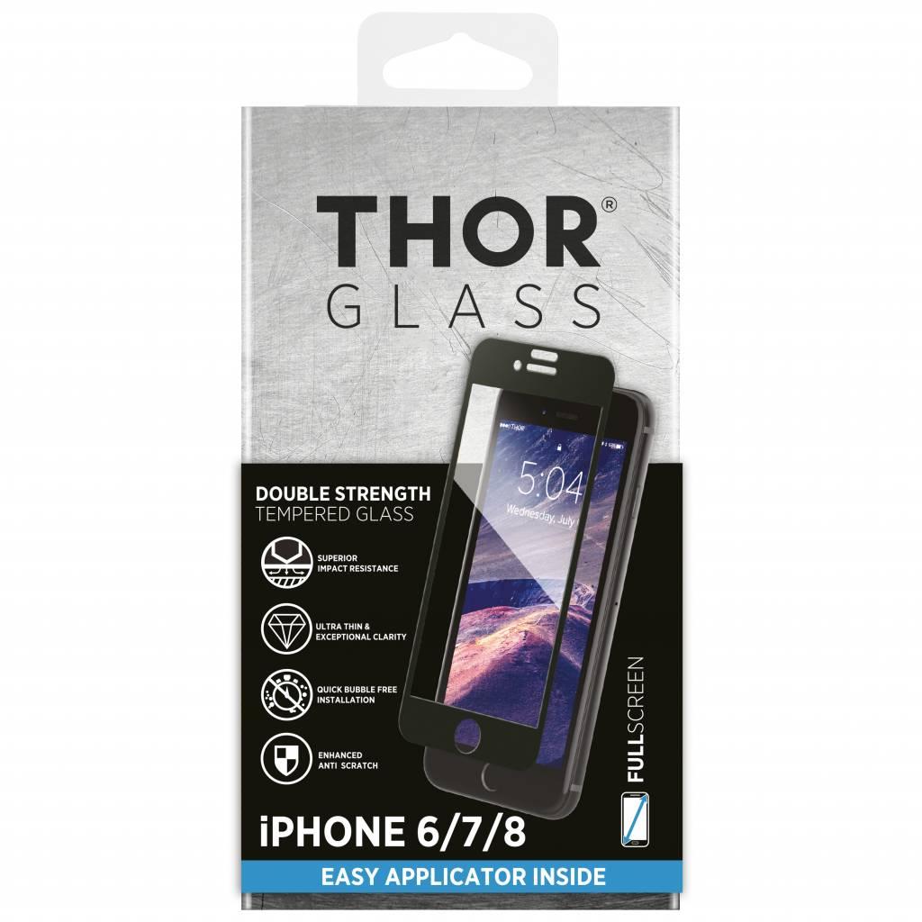 Full Screenprotector + Apply Frame iPhone 8 / 7 / 6s / 6
