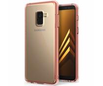 Ringke Rosé Goud Fusion Case Samsung Galaxy A8 (2018)