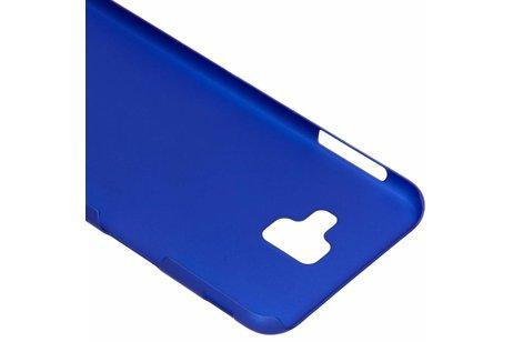 Samsung Galaxy J6 Plus hoesje - Effen Backcover voor Samsung
