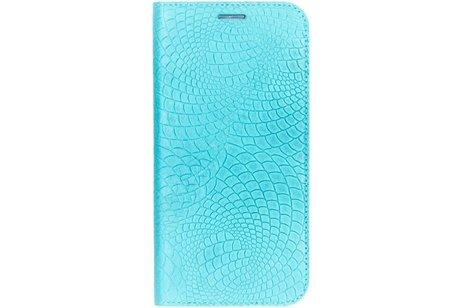 iMoshion Snake Booktype voor Samsung Galaxy S6 - Blauw