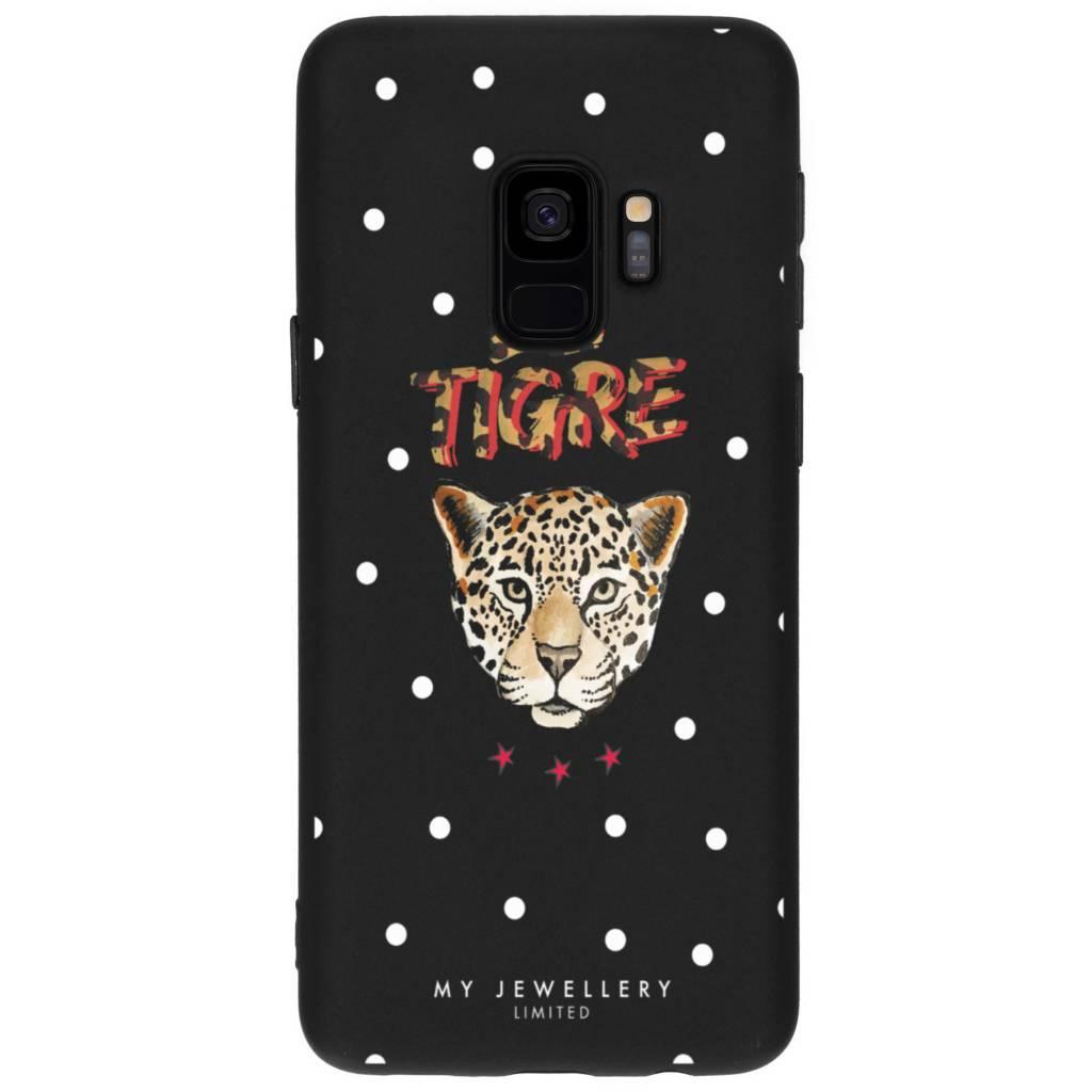 My Jewellery Le Tigre Design Soft Case voor de Samsung Galaxy S9