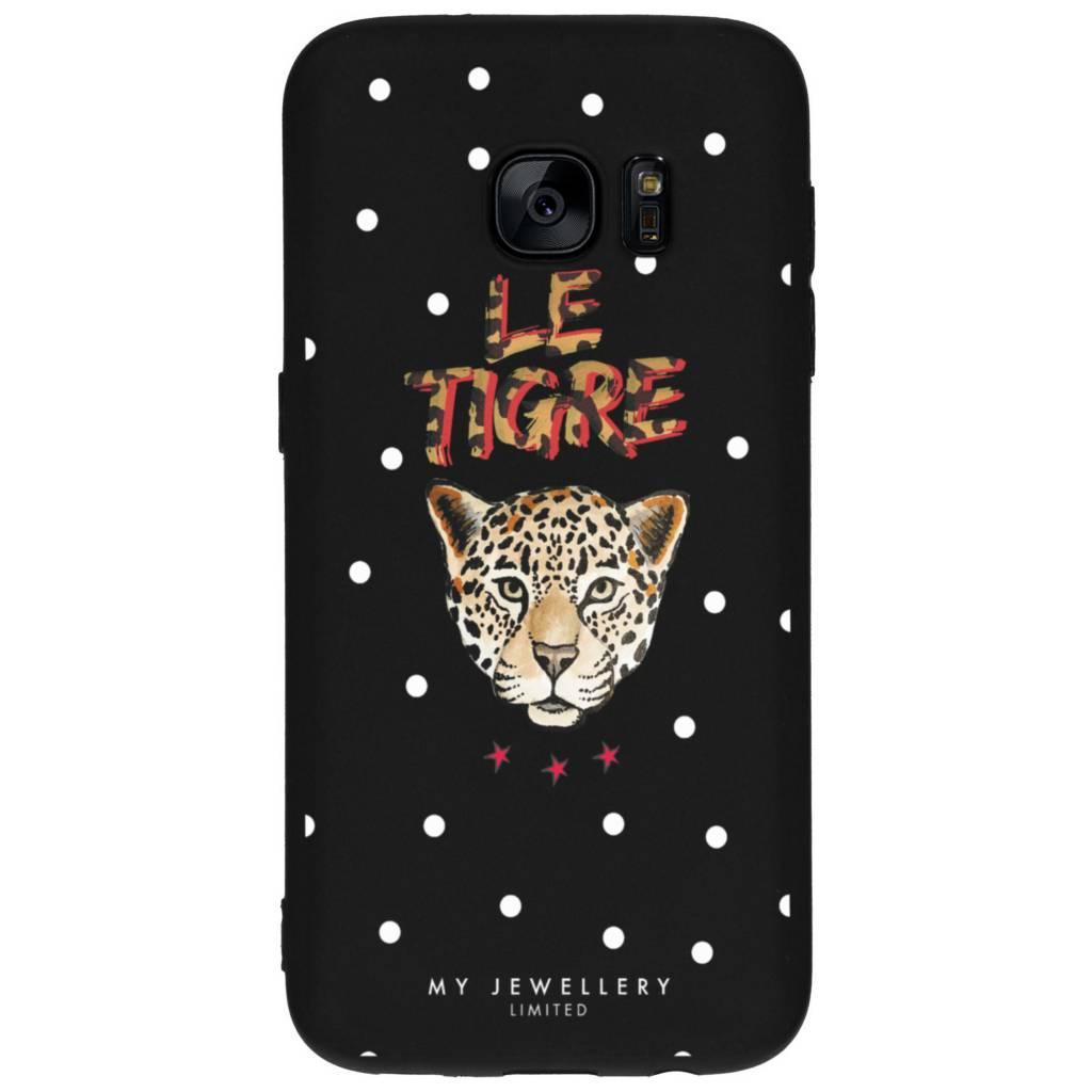 My Jewellery Le Tigre Design Soft Case voor de Samsung Galaxy S7